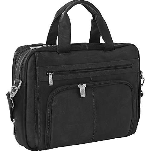Kenneth Cole Organizer - Kenneth Cole Reaction Colombian Leather Laptop Portfolio - EXCLUSIVE - Black