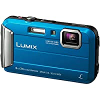Panasonic Lumix DMC-FT30EB-A FT30/TS30 Waterproof Action Camera - Blue (International Model No Warranty)