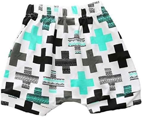 LOOLY Unisex Baby Boys Girls Cotton Shorts