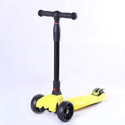 Defect Patinete para niños Scooter de Cuatro Ruedas en Color ...