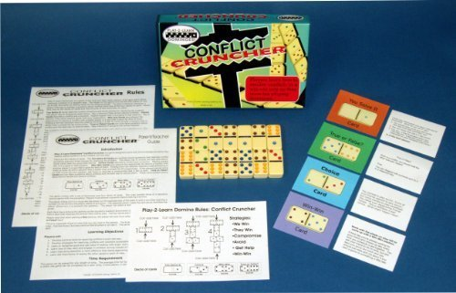 Play-2-Learn Dominoes - Conflict Cruncher by Franklin Learning Systems
