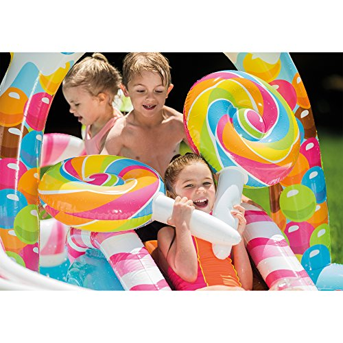 "Intex Candy Zone Inflatable Play Center, 116"" X 75"" X 51"", For Ages 2+"