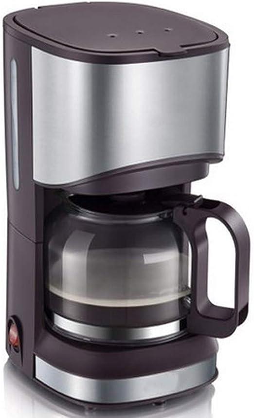 American Goteo Cafetera, Cafetera De Filtro, Molinillo De Café, 3-4 Taza Cafetera, Filtro Permanente De Reutilización, Brown: Amazon.es: Jardín