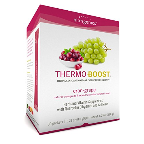 ost ® | Thermogenic Powder Energy Drink Mix – Antioxidant, Anti-Aging Properties - Metabolism Booster for Weight Loss - Fights Fatigue and Inflammation (Cran-Grape Flavor) ()
