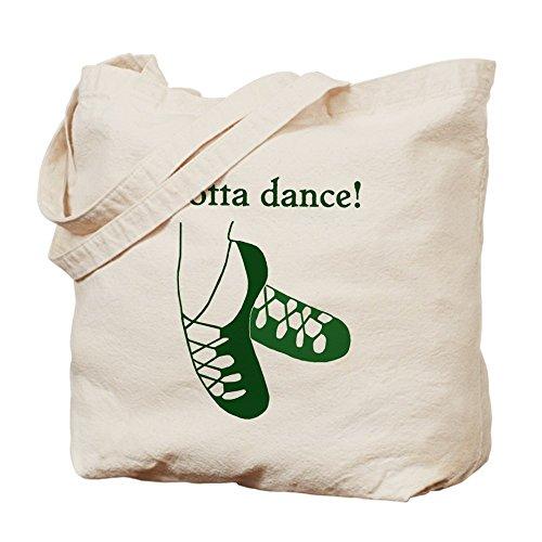 CafePress–Gotta danza irlandese–Borsa di tela naturale, panno borsa per la spesa