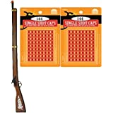 Kentucky Rifle Toy Cap Gun (37.5 Inches) with 2 Pack Single Shot Caps