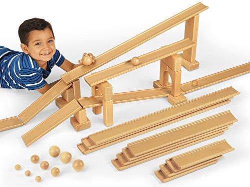Wooden Ramp (Lakeshore Ramps & Balls Exploration Set)