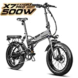 Eahora X7 Pro 20 Inch Folding Electric Bike 48V
