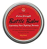 Battle Balm - Extra Strength - Natural Herbal Pain Relief for Sciatica, Back
