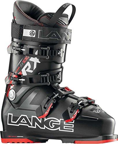 Lange RX 100 Ski Boot - Black/Red (Lange Mountain Ski Boots)