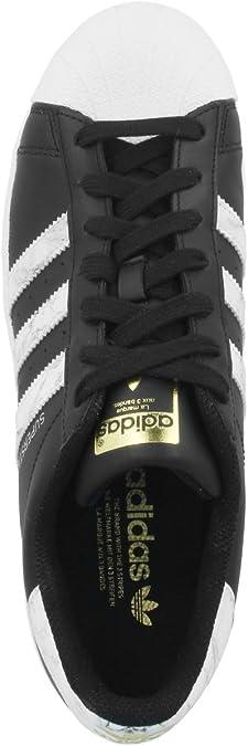 adidas Herren Superstar D96800 Sneaker, schwarzweiß