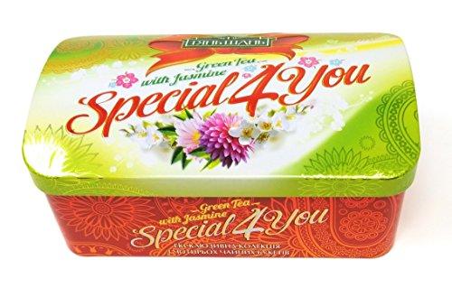Creation Flower (Natural Blooming Flower Tea – Hand Tied Organic Green Tea Leaves, Jasmine Blossoms Flowering Tea Creations – Blooming Green Tea Gift Set – 8 Pack)