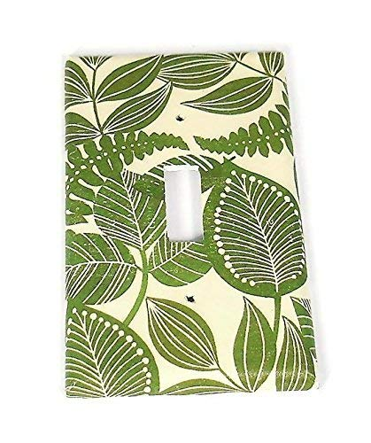 (1 Gang Lightswitch Plate Rain Forest)