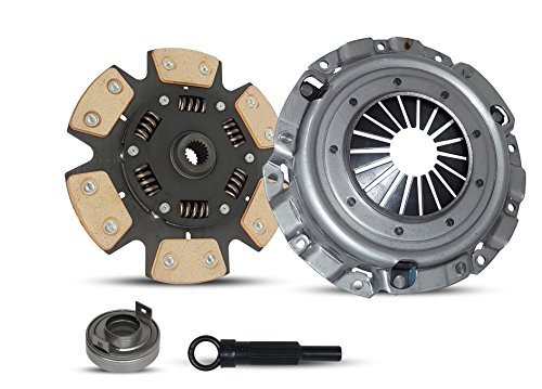 (Clutch Kit Works With Mitsubishi Eclipse Gs Se Spyder Hatchback Convertible 2-Door 2006-2012 2.4L 2378CC l4 GAS SOHC Naturally Aspirated (6-Puck Clutch Disc Stage 2))