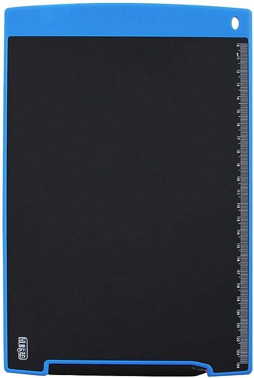 グラフィック描画タブレット MRTU Howshow 12インチ液晶圧力センシングE-注ペーパーレスライティングタブレット/ライティングボード(ブラック) (Color : Blue)