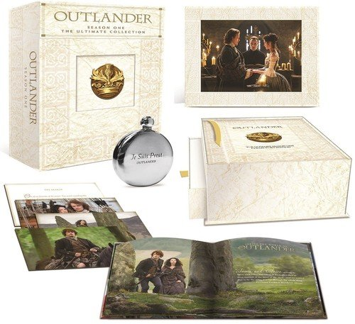 - Outlander Season One: The Ultimate Collection (Blu-ray + UltraViolet + Limited Edition Keepsake Box and Flask)