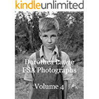 Dorothea Lange FSA Photographs Volume 4 book cover