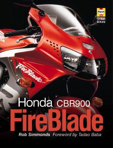 Honda Cbr900 Fireblade (Haynes Great Bikes)