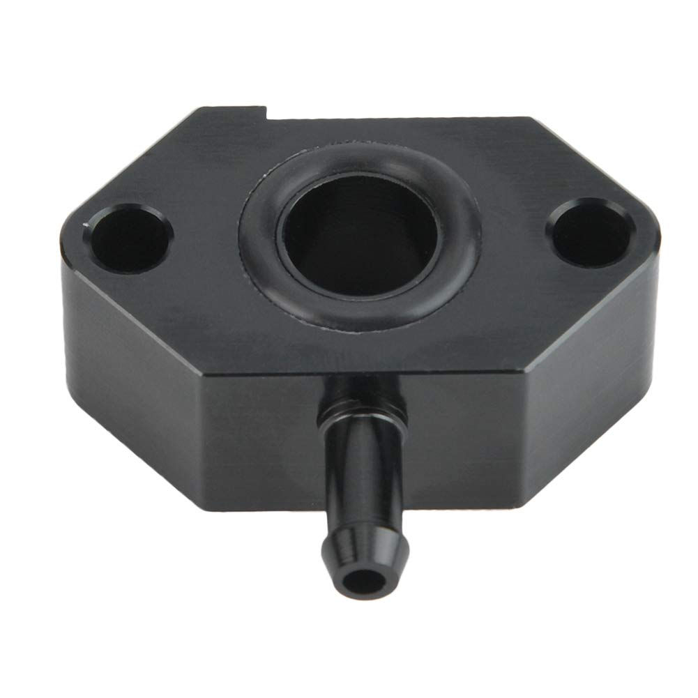 kit de adaptador de vac/ío Sport Turbo Boost Tap de aluminio apto para motor EA111 1.4T Suuonee Turbo Boost Tap