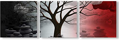 wall26 Canvas Wall Art Abstract Cloud Tree Pictures Home Wall Decoration