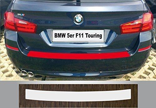 LADEKANTENSCHUTZ Lackschutzfolie für BMW 5er Touring Kombi F11 schwarz glänzend