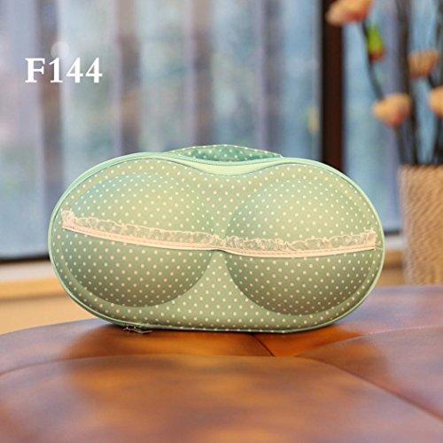 FEITONG Proteger bra ropa interior lencería caso Bolsa de viaje Caja de almacenamiento portátil (H) E