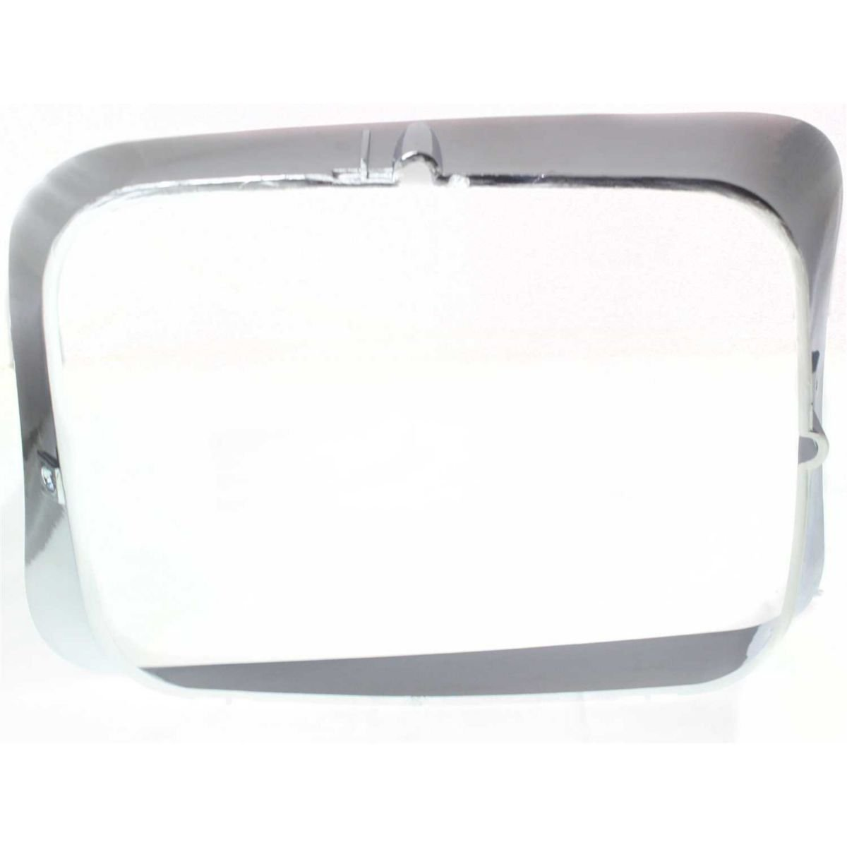 DAT AUTO PARTS Left Driver Side Headlamp Door Cover Replacement for 92-93 Dodge D350 Pickup Ramcharger CH2512118 Chrome