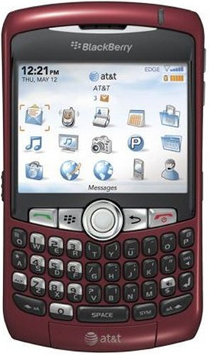 BlackBerry Curve 8310 Phone, Red (AT&T) Att Curve
