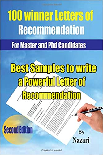 100 Winner Letters Of Recommendation For Master And Phd Candidates