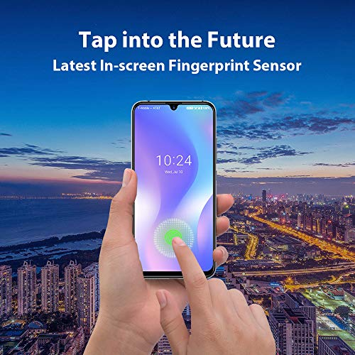 Unlocked Smartphones 2019, UMIDIGI X in-Screen Fingerprint Dual SIM 4G Budget Phone, 48MP Triple Camera 6.35'' AMOLED Full Screen 4150mAh NFC RAM 4G ROM 128GB Fast Charging