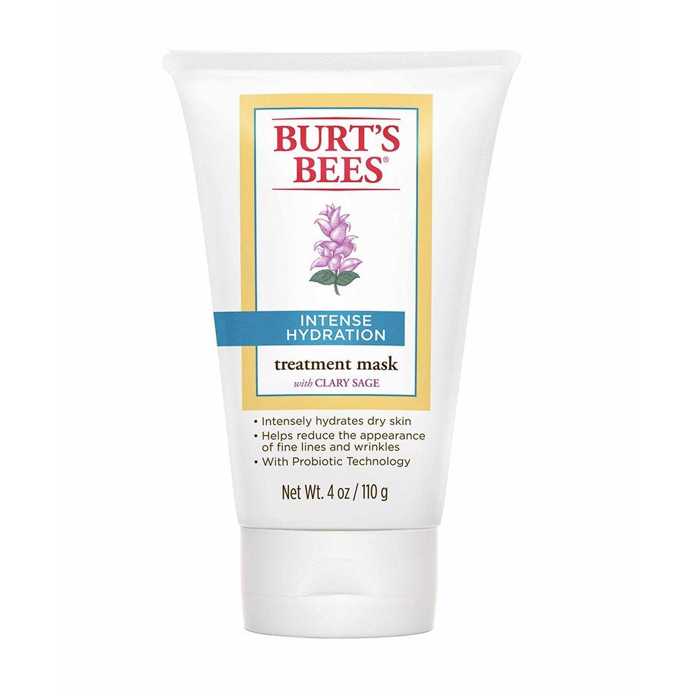Amazon : Burt's Bees Intense Hydration Mask, 4 Ounce : Facial Masks :  Beauty