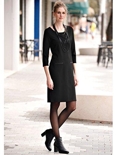 Romanit Damen in Laura Pflegeleicht Kent Kleid by Schwarz Qualität wgIaZ1qxp5