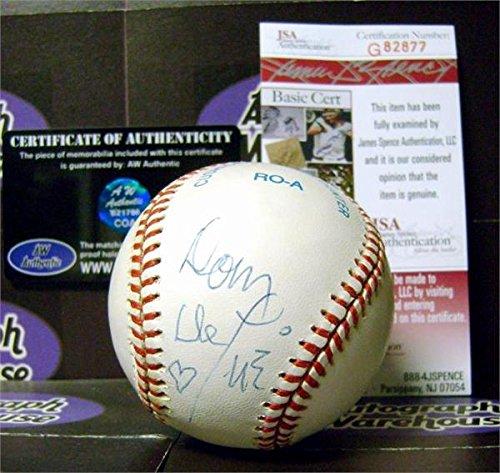 Blazing Baseball - Dom Deluise autographed Dom Deluise autographed baseball (Cannon Ball Run Captain Chaos Blazing Saddles OMLB) JSA Authentication