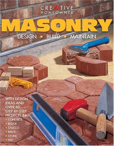 Masonry: Design, Build, Maintain