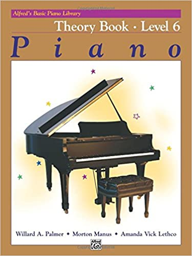 alfreds basic piano course piano theory book level 6