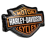 Harley-Davidson Bar and Shield Decorative Pillow