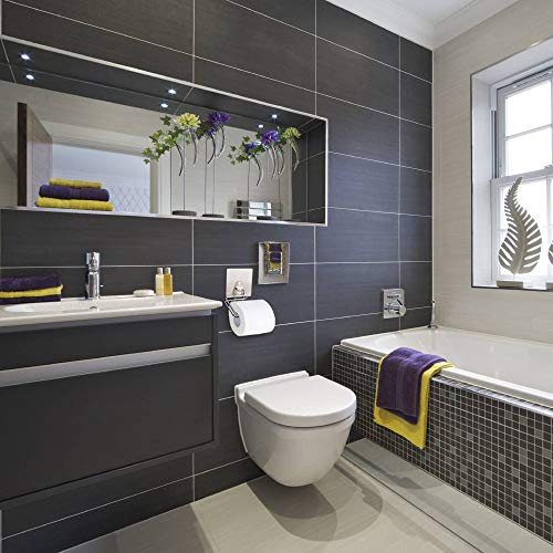 JIAN YA NA Porta rotolo di carta Facile da attaccare alla parete della toilette Appeso a parete con portafoto impermeabile