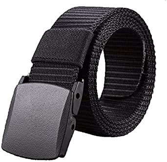 Black Plastic Belt For Men