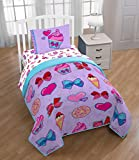 Nickelodeon JoJo Siwa Bowlicious Twin Quilted Bed Spread (Official JoJo Siwa Product)