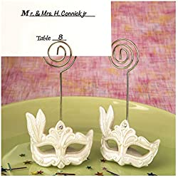 30 Mardi Gras Mask Themed Place Card Holders Bridal Shower Wedding Favors