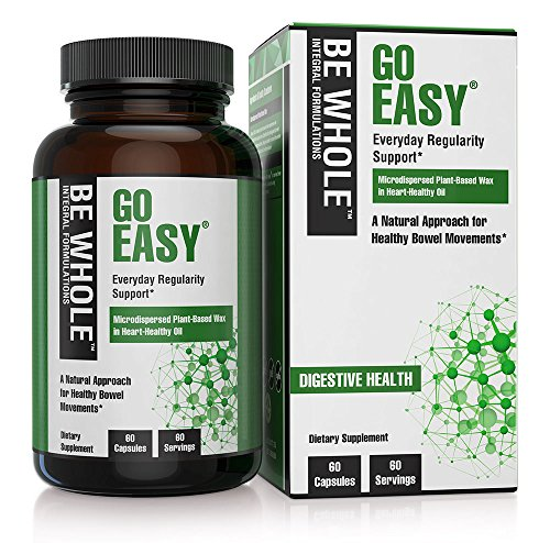 Go Easy:Natural Approach to Healthy Bowel Movements & Constipation Prevention - Clinically Shown to Double Daily Bowel Movements - Safe, Natrual & Everyday Solution to Regularity Support,60 Capsules Regular Bowel Movements