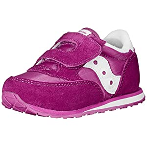 Saucony Jazz Hook & Loop Sneaker (Toddler/Little Kid), Paradise Pink, 5 M US Toddler