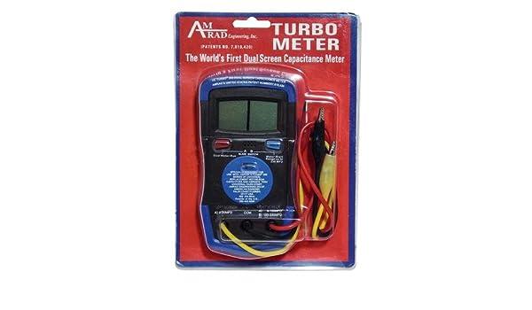 AmRad Dual Screen Capacitor Meter