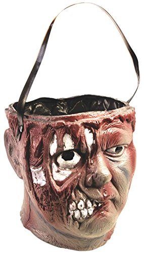 Forum Novelties Bleeding Zombie Candy Bowl, Multicolored