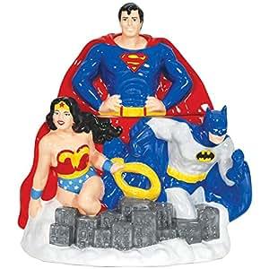 Westland Giftware Ceramic Cookie Jar, 11.5-Inch, DC Comics Super Heroes