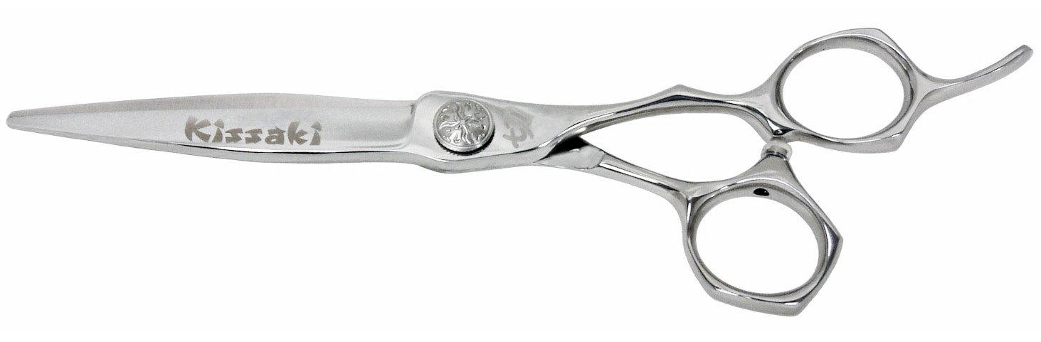 Kissaki Hair Scissors Hiraniku 6.0'' Hair Cutting Shears Barber Scissors by Kissaki (Image #1)