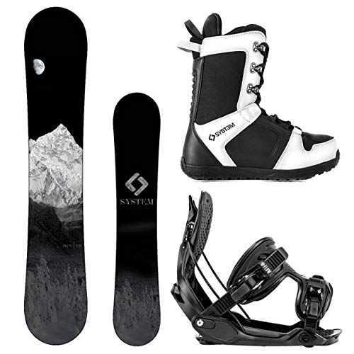 Camp Seven System MTN Snowboard and Flow Alpha MTN Men's Complete Snowboard Package 2021