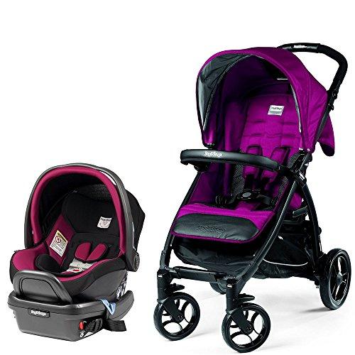 Peg Perego Booklet w Primo Viaggio 4/35 Infant Car Seat (Fleur)