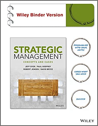Strategic Management: Concepts and Cases Binder Ready Version + WileyPLUS Learning Space Registration Card