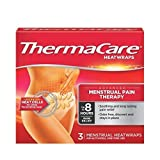 ThermaCare Menstrual Heat Wraps, 3 Count (Pack of 3)